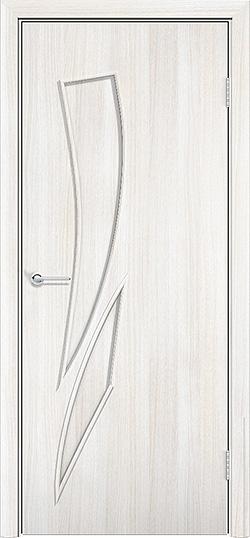 Ламинированная межкомнатная дверь Стрелец белёный дуб 3