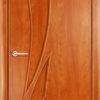 Ламинированная межкомнатная дверь Твист белёный дуб 1