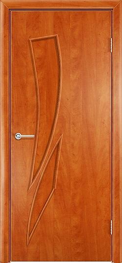Ламинированная межкомнатная дверь Стрелец груша 3