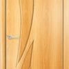 Ламинированная межкомнатная дверь Тюльпан белёный дуб 1