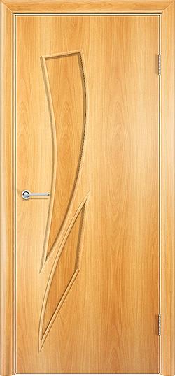 Ламинированная межкомнатная дверь Стрелец миланский орех 2