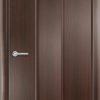 Ламинированная межкомнатная дверь Лесенка миланский орех 1