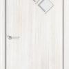 Ламинированная межкомнатная дверь Луна итальянский орех 1