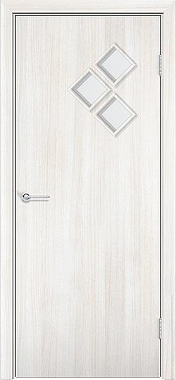 Ламинированная межкомнатная дверь Трио белёный дуб 3