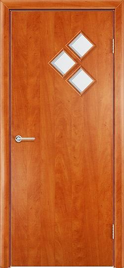 Ламинированная межкомнатная дверь Трио груша 3