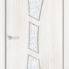 Ламинированная межкомнатная дверь Вьюга венге премиум 2