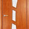 Ламинированная межкомнатная дверь Комфорт белёный дуб 1