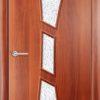 Ламинированная межкомнатная дверь Комфорт груша 2