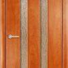 Ламинированная межкомнатная дверь Горизонт 1 миланский орех 1