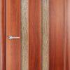 Ламинированная межкомнатная дверь Рим итальянский орех 2