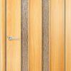 Межкомнатная дверь Геометрия миланский орех 1