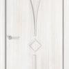 Ламинированная межкомнатная дверь Лиана итальянский орех 1
