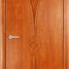 Ламинированная межкомнатная дверь Лесенка груша 2