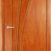 Ламинированная Межкомнатная дверь Камея венге премиум 1