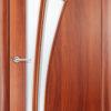 Ламинированная межкомнатная дверь Клевер венге премиум 2