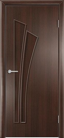 Ламинированная межкомнатная дверь Ветка венге премиум 3