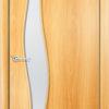 Ламинированная межкомнатная дверь Лиана белёный дуб 1