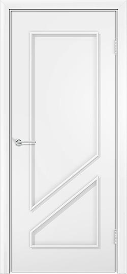 Ламинированная межкомнатная дверь Жасмин белый 3