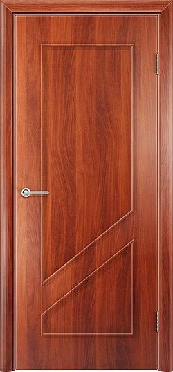 Ламинированная межкомнатная дверь Жасмин итальянский орех 3