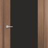 Межкомнатная дверь G 10 орех темный рифленый 1