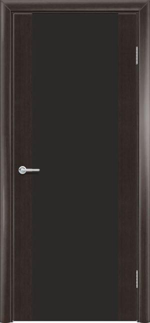 Межкомнатная дверь G 11 орех темный рифленый 3