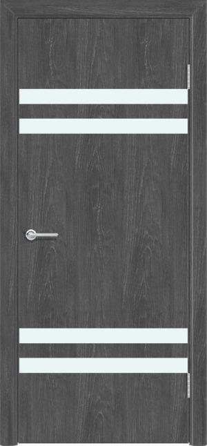 Межкомнатная дверь ПВХ G 13 дуб графит 3