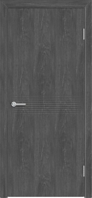 Межкомнатная дверь G 21 дуб графит 3