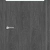 Межкомнатная дверь G 1 орех темный рифленый 1