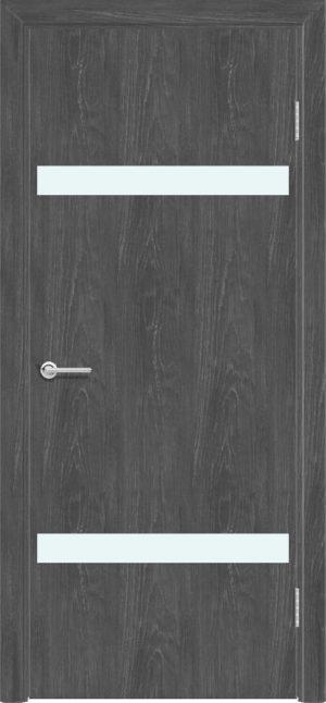 Межкомнатная дверь ПВХ G 4 дуб графит 3