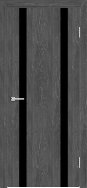 Межкомнатная дверь G 9 дуб графит 2