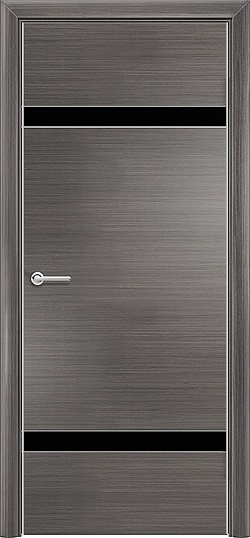 Межкомнатная дверь Q 4 серый 3