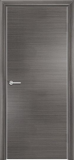 Межкомнатная дверь Q глухая серый 3