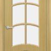 Межкомнатная дверь шпон Ива дуб 2