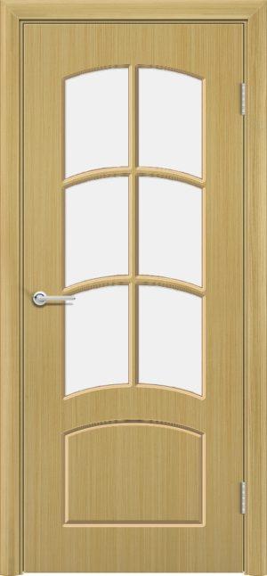 Межкомнатная дверь шпон Арка дуб 3
