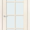 Межкомнатная дверь шпон Лотос орех 1