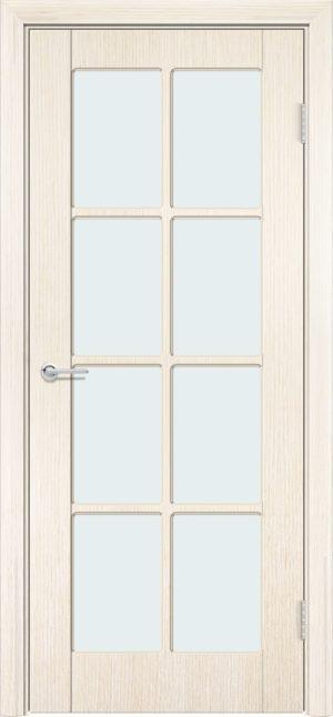 Межкомнатная дверь шпон Б 10 белёный дуб 3
