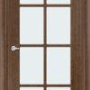 Межкомнатная дверь шпон Марсель венге 2
