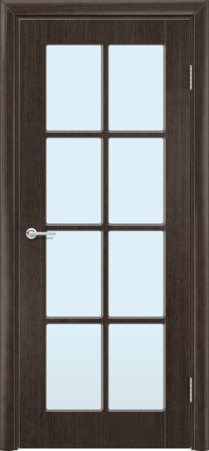 Межкомнатная дверь шпон Б 10 венге 3