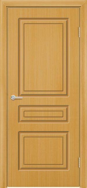 Межкомнатная дверь шпон Б 11 дуб 1