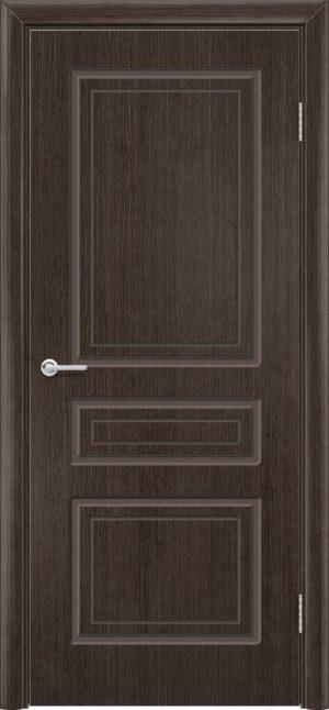 Межкомнатная дверь шпон Б 11 венге 3