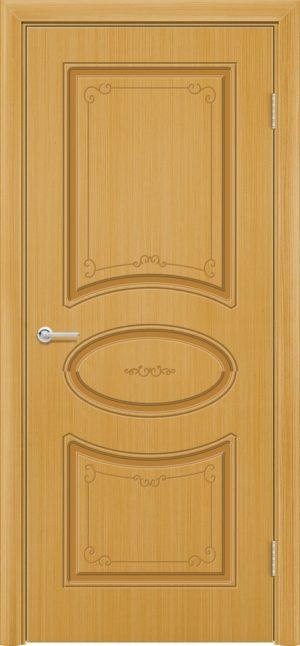 Межкомнатная дверь эмаль Б 12 дуб 3