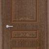 Межкомнатная дверь шпон Б 13 орех 2