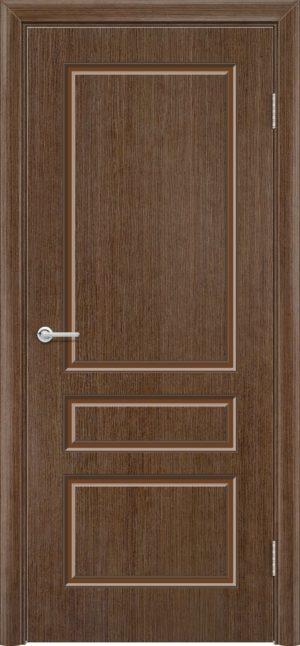 Межкомнатная дверь шпон Б 14 орех 3