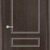 Межкомнатная дверь шпон Б 11 венге 1