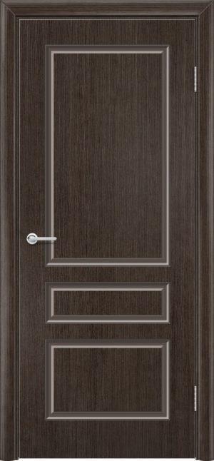 Межкомнатная дверь шпон Б 14 венге 3