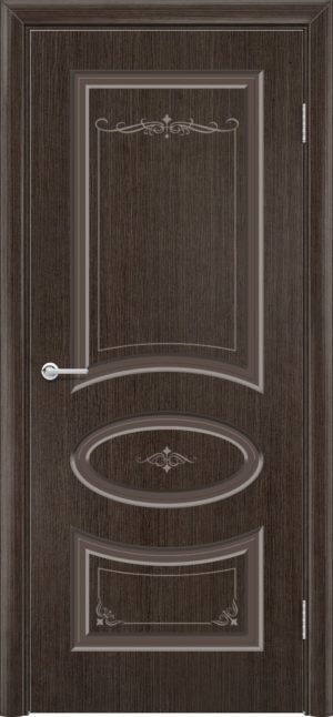 Межкомнатная дверь шпон Б 15 венге 3