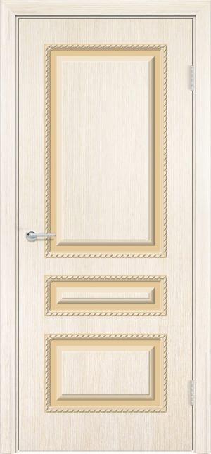 Межкомнатная дверь шпон Б 2 белёный дуб 3