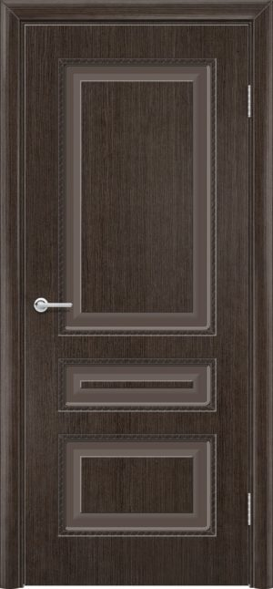 Межкомнатная дверь шпон Б 2 венге 3