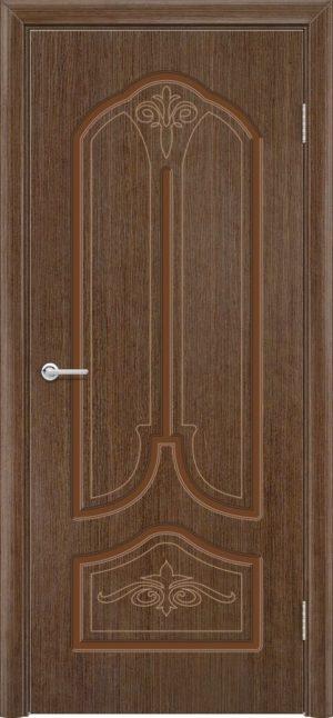 Межкомнатная дверь шпон Б 20 орех 3