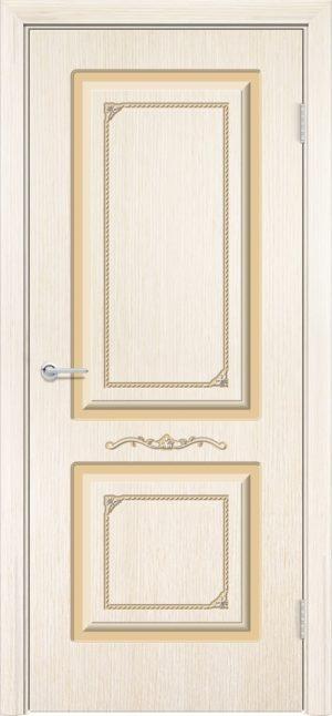 Межкомнатная дверь шпон Б 3 белёный дуб 3